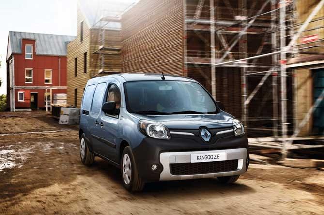 Prodotti per la ricarica di Renault Nuovo Kangoo Z.E. 33 (2017)