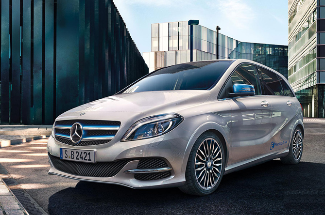 Prodotti per la ricarica di Mercedes-Benz Classe B Electric Drive