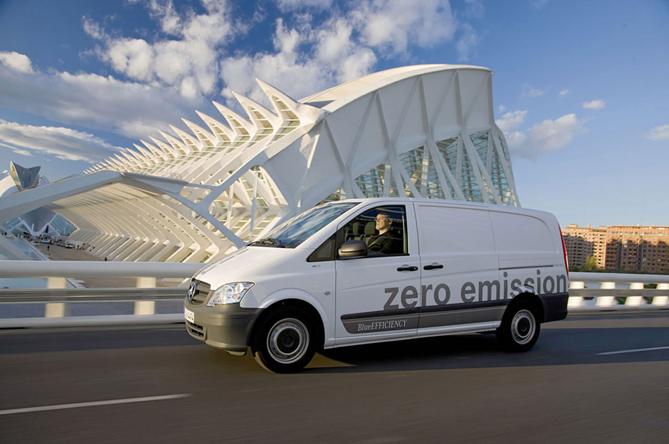 Prodotti per la ricarica di Mercedes-Benz Vito E-CELL