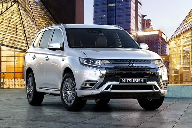Prodotti per la ricarica di Mitsubishi Outlander PHEV (MY2019)