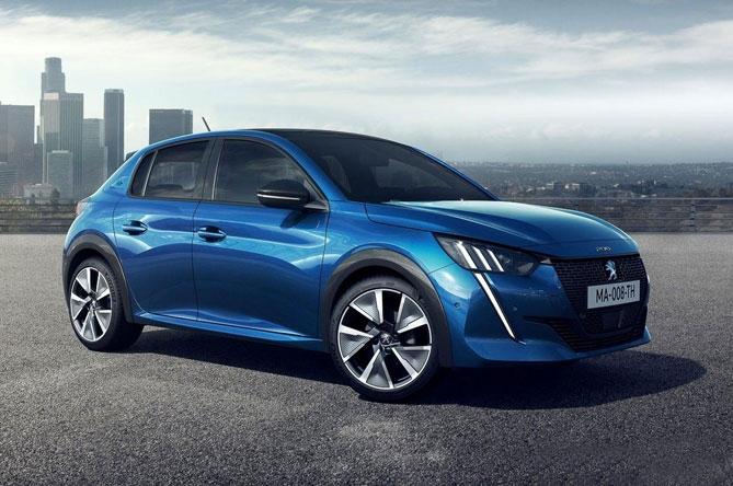 Prodotti per la ricarica di Peugeot e-208