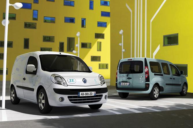 Prodotti per la ricarica di Renault Kangoo Z.E. 2011