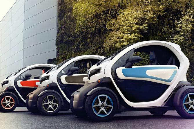 Prodotti per la ricarica di Renault Twizy