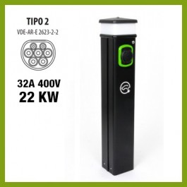 Colonnina Basic Charger T2 (22 kW)