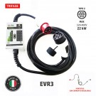 EVR3 - Tipo 2 - max 22 kW trifase