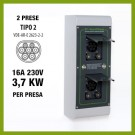 Securi Charger 2 x 3,7 kW