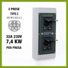 Securi Charger 2 x 7,4 kW