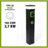 Colonnina Basic Charger T3A (3.7 kW)