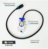 Adattatore per EVR1 max 3,7 kW --> Presa Schuko domestica 10A