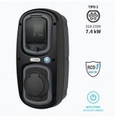 Wall-Box 7,4 kW per ricarica auto elettriche Modo 3